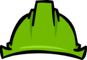 Green Hard Hat clothing icon ID 1133