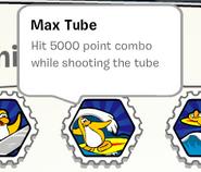 Max tube stamp book