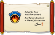 Fire Booster Deck full award de