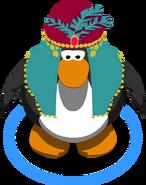 Mystic Headdress In-Game