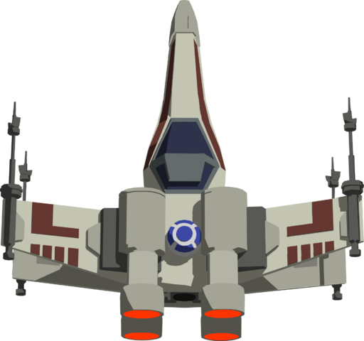 File:X Wing Game Fighter.png
