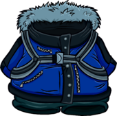 Blue Expedition Jacket clothing icon ID 4255