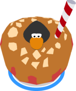 Caramel Apple Costume in-game