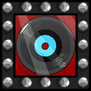 Rock N' Roll Record furniture icon