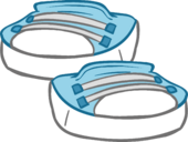 Sky Blue Sneakers icon