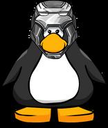 War Machine Helmet from a Player Card