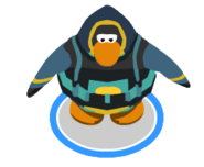 Deep Sea Diving Suit swimming ingame