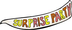 Surprise Party banner