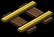 Gold Railroad Piece sprite 002