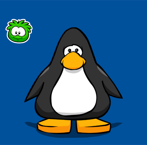 File:Green Puffle pin on a Player Card.PNG