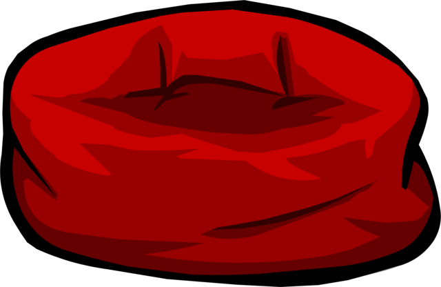 File:Red Bean Bag Chair.PNG