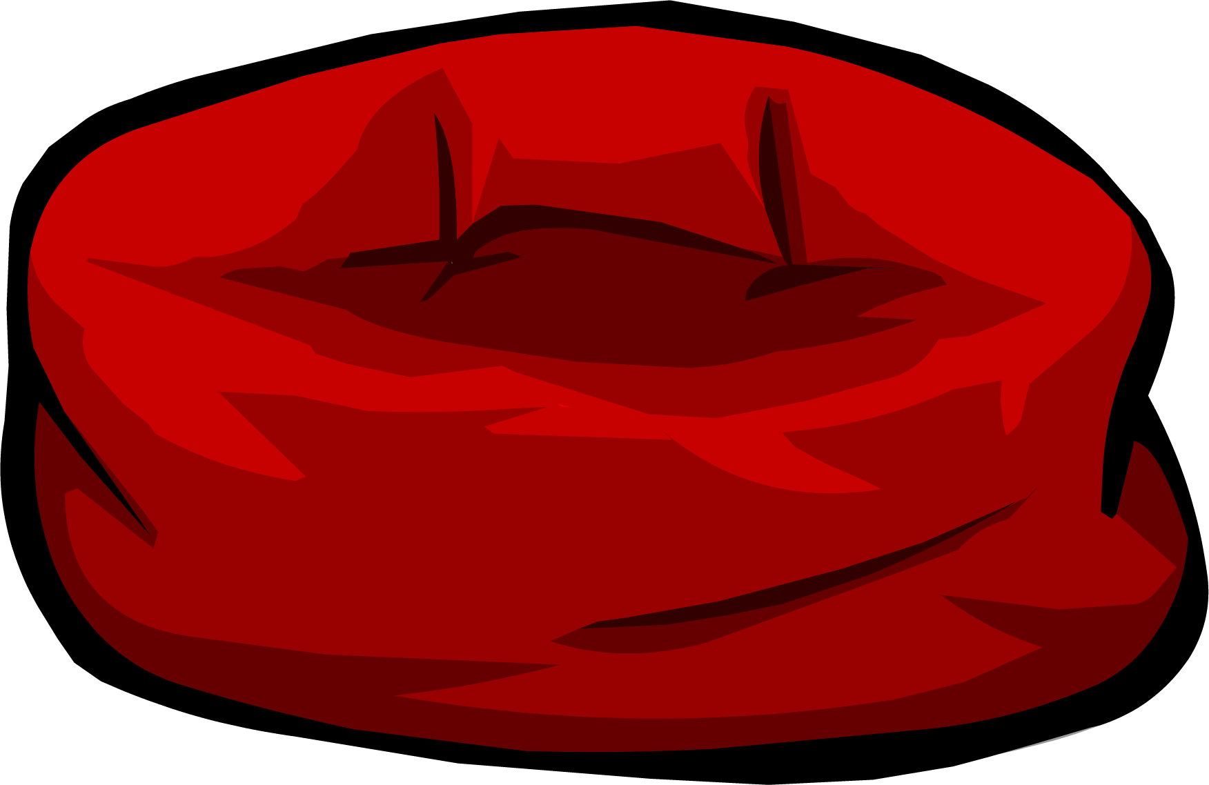 Red Beanbag Chair Club Penguin Wiki
