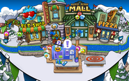Club Penguin Island Party Plaza 2