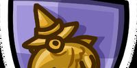 Fluffy Crest Pin