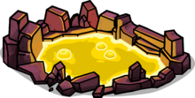 Golden Lava Pool sprite 001