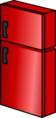 Shiny Red Fridge sprite 003