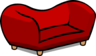 Red Plush Couch sprite 008