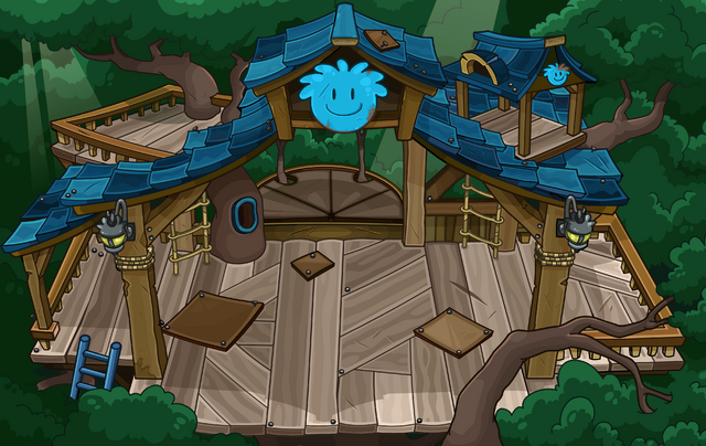 File:Blue Puffle Tree House sprite.png