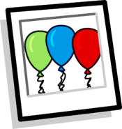 Balloon Arch Background icon
