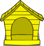 Yellow Puffle House