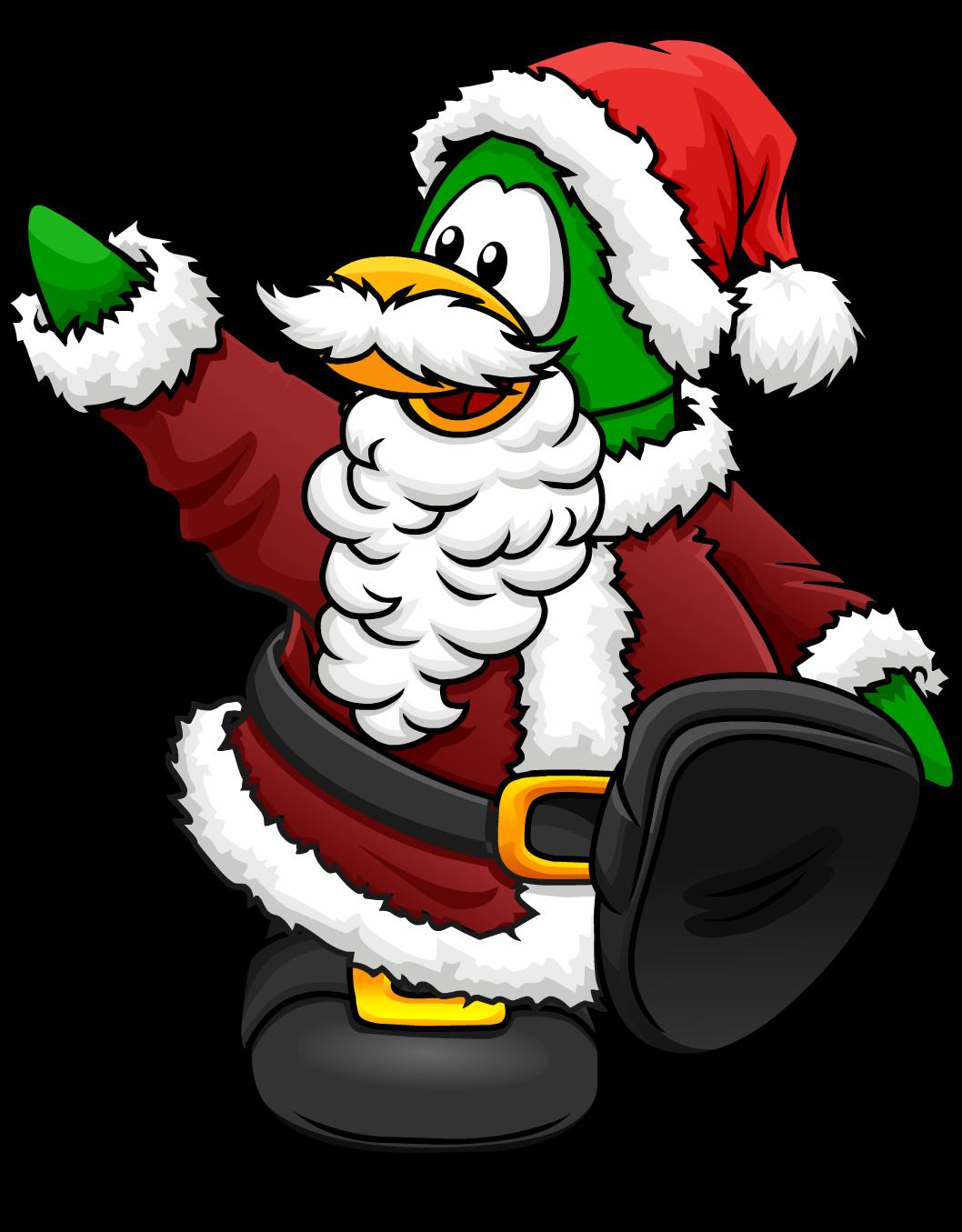 santa claus club penguin wiki fandom powered by wikia