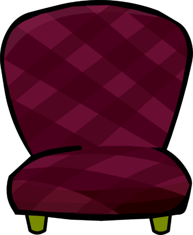 File:Burgundy Chair.png