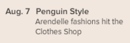 Penguin Times issue 458 Arendelle fashions