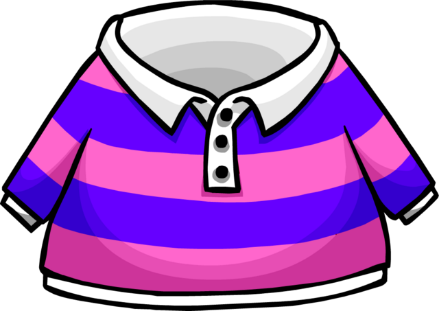 File:Pink Striped Rugby Shirt.png