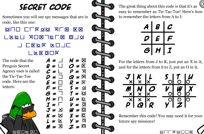 Image Secret Code Png Club Penguin Wiki Fandom