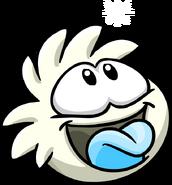 White PuffleTongue2