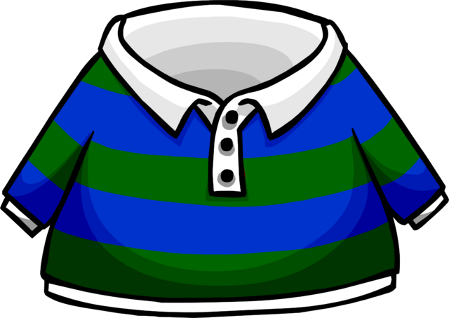 File:Green Striped Rugby Shirt.PNG