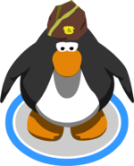 Puffle Guide Hat in-game