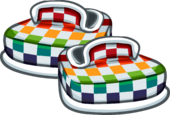 RainbowCheckeredShoes