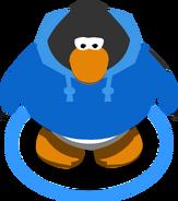 Blue Hoodie in-game