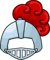 Puffle Care icons Head knighthelmet