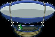 Super Hero Bounce Hot Air Balloon Ship