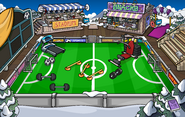 Penguin Cup construction Stadium