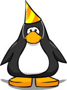 2nd Year Party Hat player card