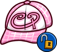 Pink Skater Hat unlockable icon