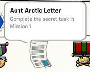 Aunt arctic letter stamp book
