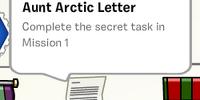 Aunt Arctic Letter