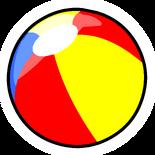 Beach Ball Pin