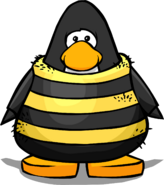 Bee Costume on a Player Card