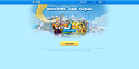 Club Penguin Main Page Feb 2015