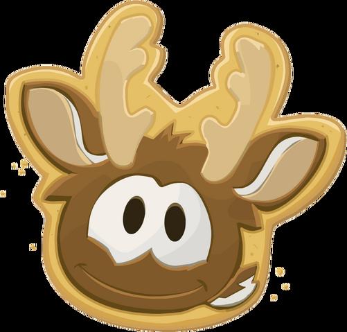 File:Reindeer Puffle Cookie.png