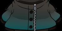 Kind of a Big Teal Coat
