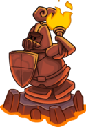 Knight's Quest 2 knight statue