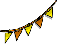 Orange Triangle Pennants sprite 002