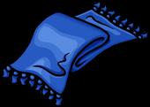Blue Designer Scarf Icon
