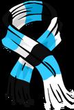 Blue Striped Scarf (ID 3035) Icon 3035
